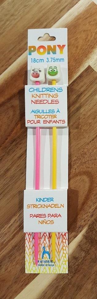 Pony Children's Straight Needles