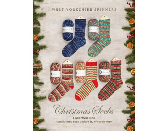 WYS Christmas Socks – Collection One Hand Knitted Sock Designs