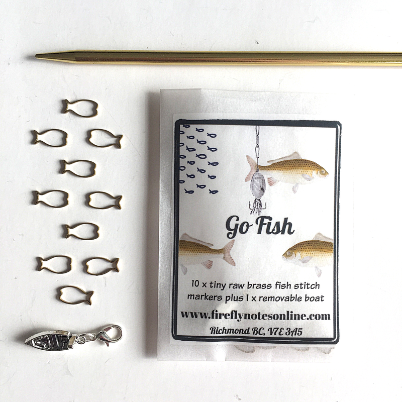 Firefly Notes Go Fish Stitch Marker Pack
