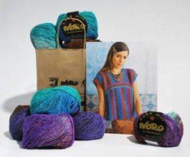 Two Way Top in Noro Silk Garden Lite