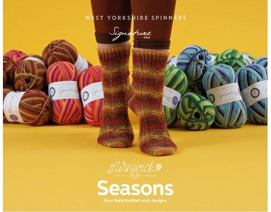 WYS Seasons Socks Patterns Book