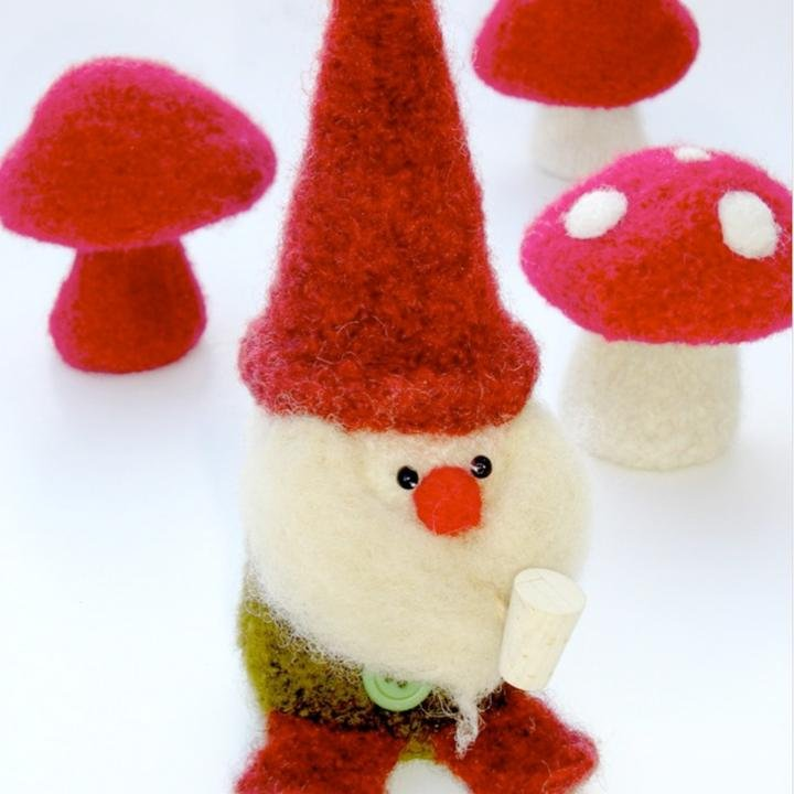 Woolly Gnome & Mushroom Booklet