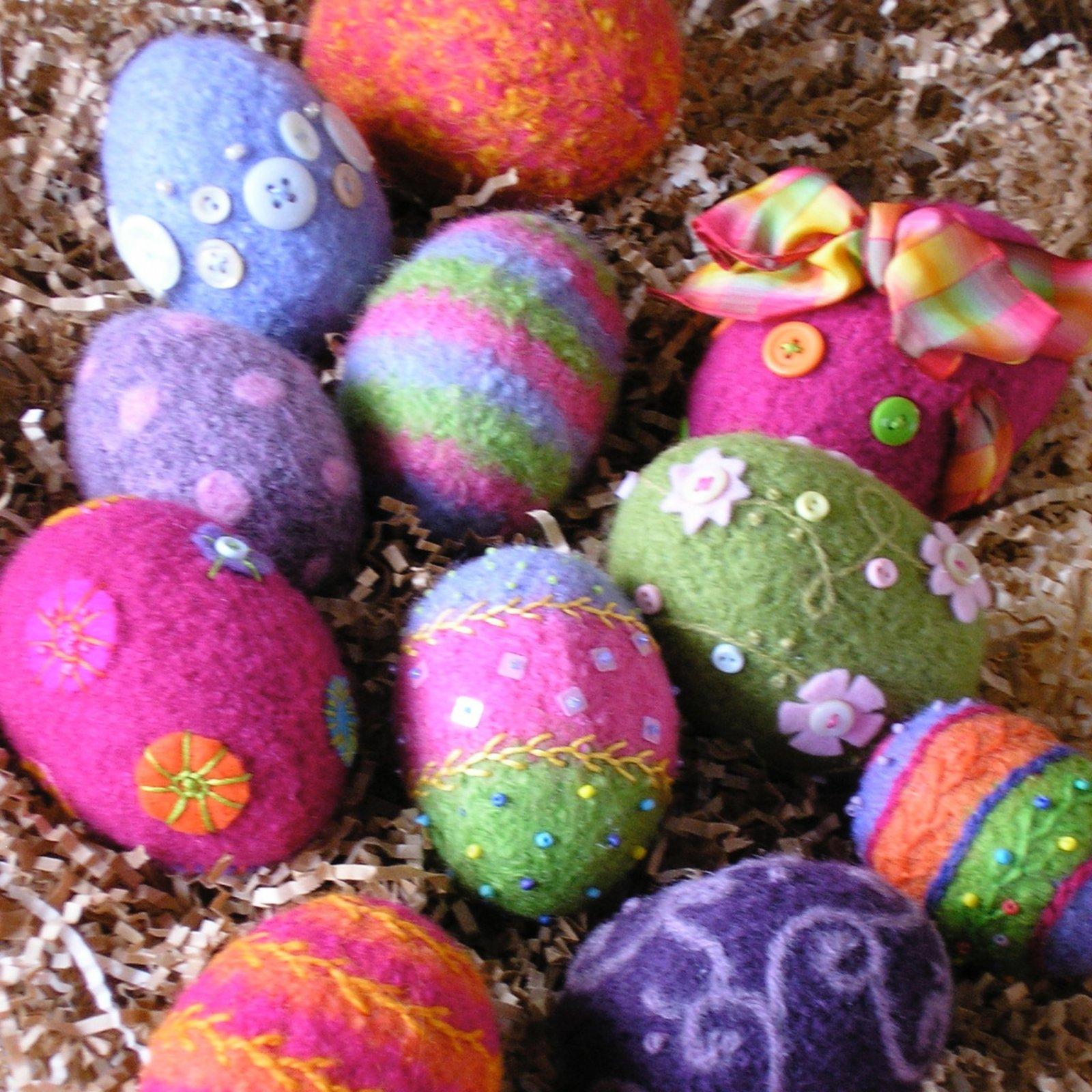Woolly Eggs by Marie Mayhew