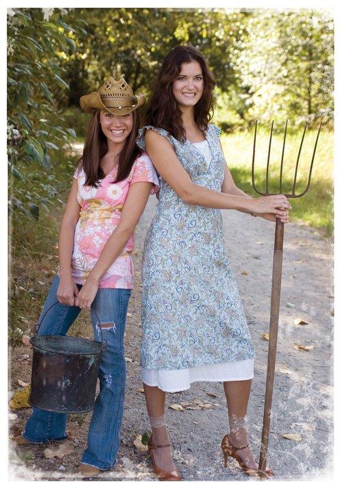 Prairie Girl Dress Pattern by Favorite Things