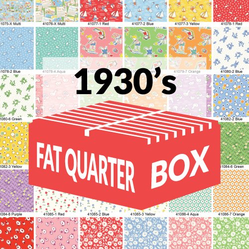 FQBOX1930 Storybook & Feedsack Assorted Fat Quarter Box