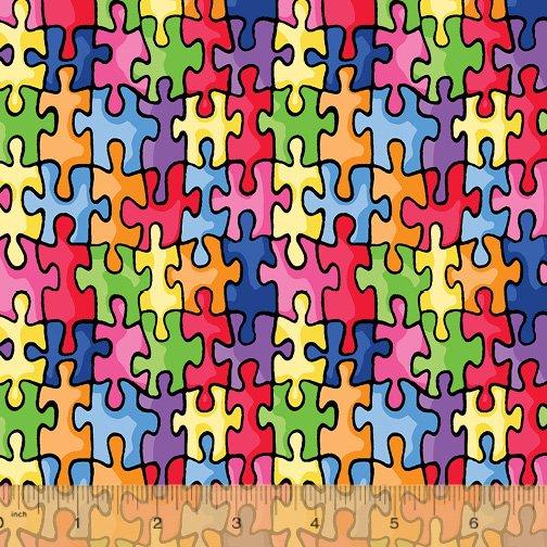 19596-X Autism Awareness by Windham Fabrics