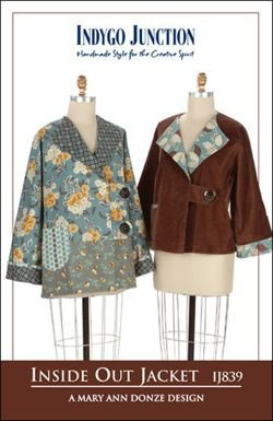 Inside Out Jacket Pattern by Indygo Junction