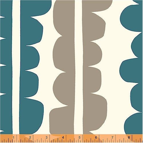 33410-12 The Premier Collection Echo by Lotta Jansdotter for Windham Fabrics YARD CUTS ONLY