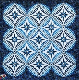 Something Blue Quilt Kit designed by Jacqueline de Jonge