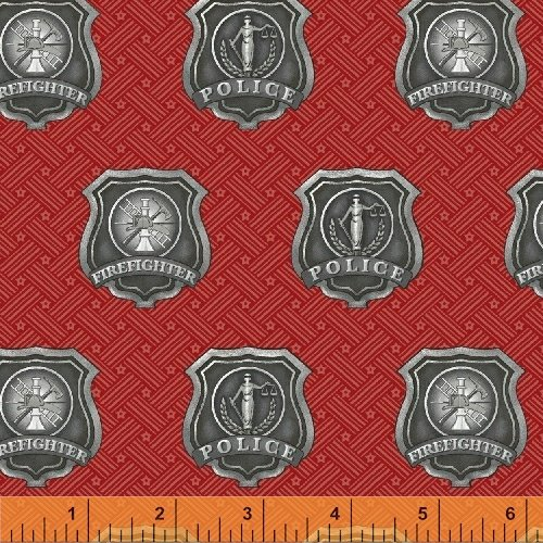 36043-2 American Heroes designed by Whistler Studios for Windham Fabrics