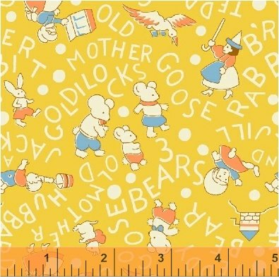 36076-2 Storybook Classics by Whistler Studios for Windham Fabrics