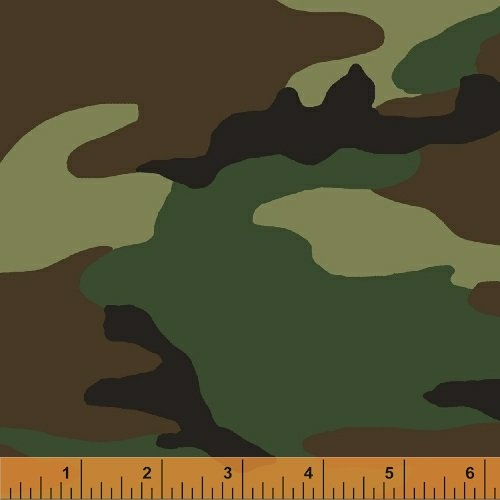 36383-1 Shipping in August 2020 Camo by Whistler Studio for Windham Fabrics