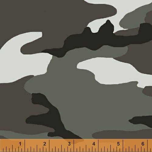 36383-2 Camo by Whistler Studio for Windham Fabrics