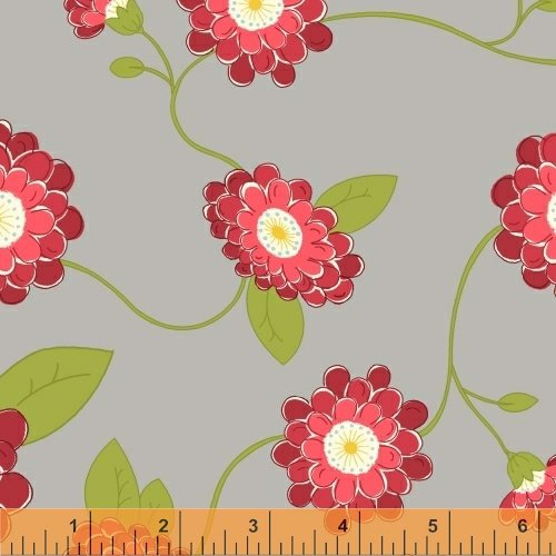37100-1 Wallflowers by Allison Harris for Windham Fabrics