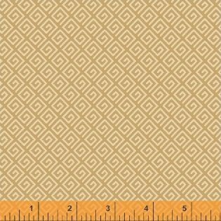 39043-1 Butter Pecan designed by Whistler Studios for Windham Fabrics