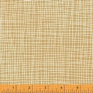 39045-1 Butter Pecan designed by Whistler Studios for Windham Fabrics