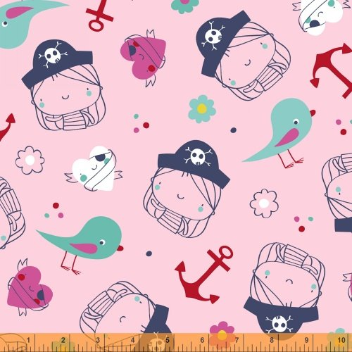 40151-X Ahoy Matey designed by Whistler Studios for Windham Fabrics