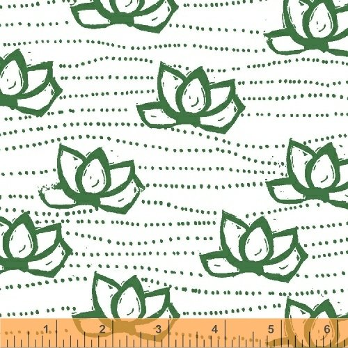 40683-9 Lucky designed by Lotta Jansdotter for Windham Fabrics NOT CONTINUOUS YARDAGE