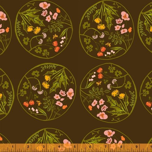40928-3 Tiger Lily designed by Heather Ross for Windham Fabrics