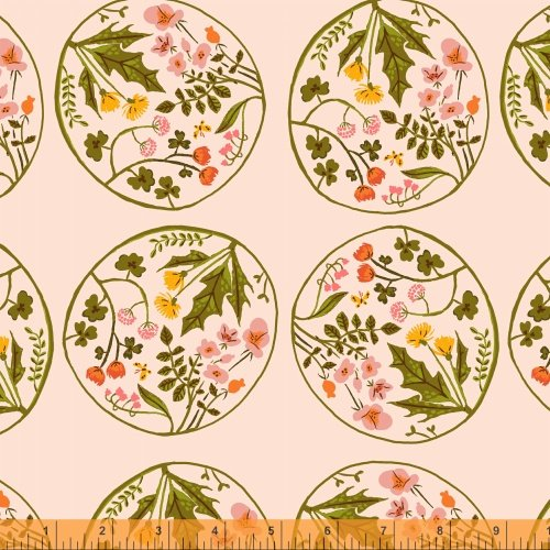 40928-4 Tiger Lily designed by Heather Ross for Windham Fabrics