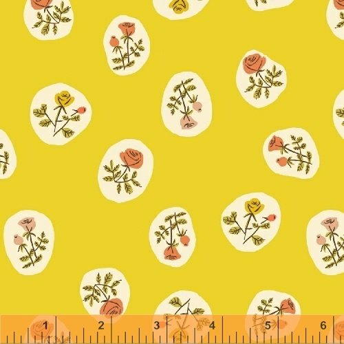 40930-7 Tiger Lily designed by Heather Ross for Windham Fabrics