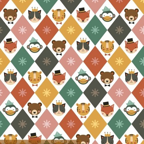 41507-X Party Animals by Windham Fabrics
