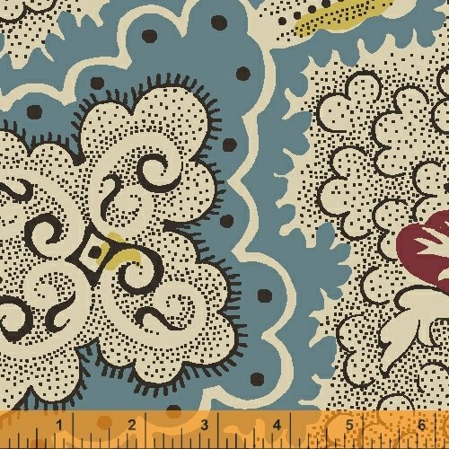 41668-2 Postage Stamp by Windham Fabrics