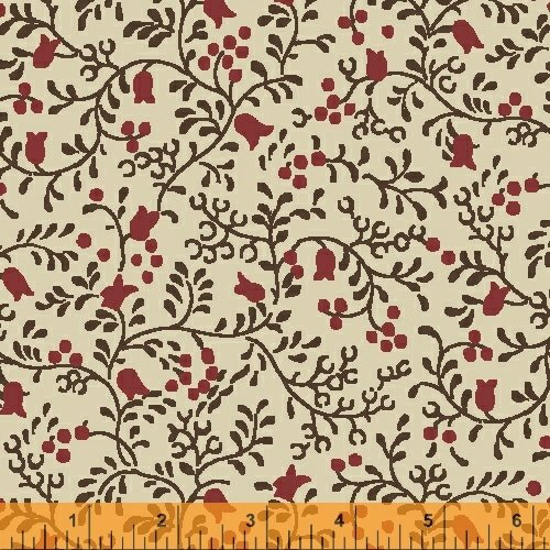 41676 5 Postage Stamp By Windham Fabrics