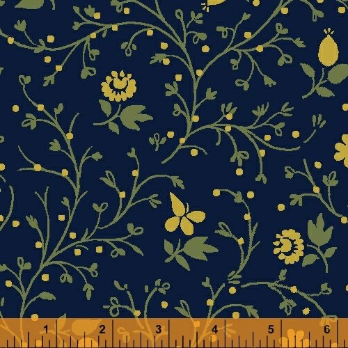 41678 3 Postage Stamp By Windham Fabrics
