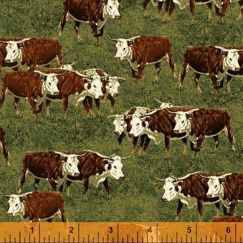 41779-1 Cattle Drive by Windham Fabrics