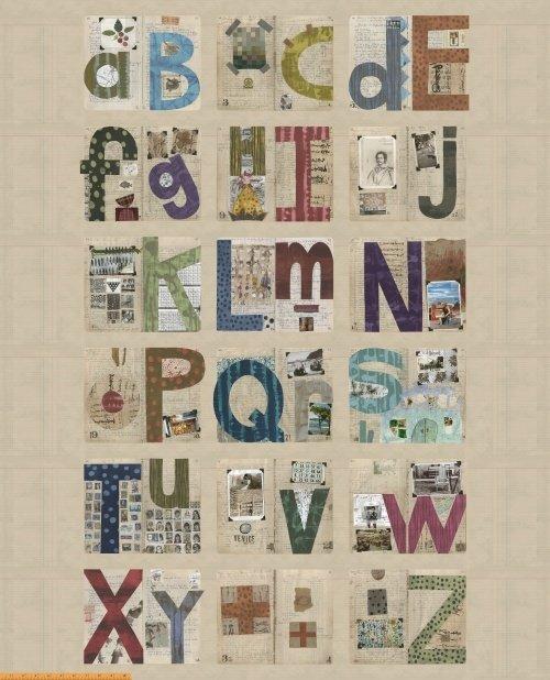 41788P-X Studio Alphabet designed by Marcia Derse for Windham Fabrics