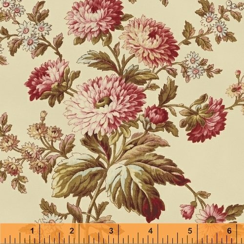 41909-1 Rosewater by Nancy Gere for Windham Fabrics