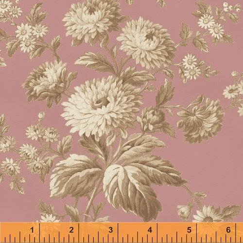 41909-3 Rosewater by Nancy Gere for Windham Fabrics