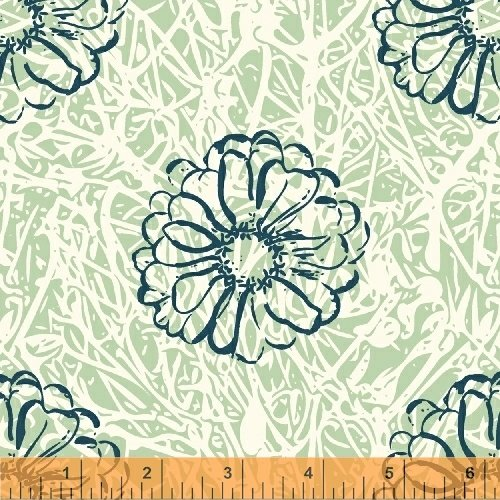 42008-12 Hand Maker by Natalie Barnes of Beyond the Reef for Windham Fabrics