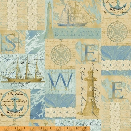 42267-X Tall Ships by Windham Fabrics