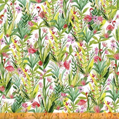 42277-X Flamingos by Windham Fabrics