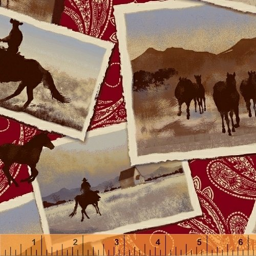 42579-2 Ranch Hands by Windham Fabrics
