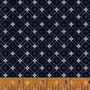 42681-1 Cheddar & Indigo by Windham Fabrics