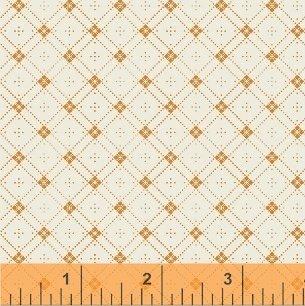 42681-2 Cheddar & Indigo by Windham Fabrics