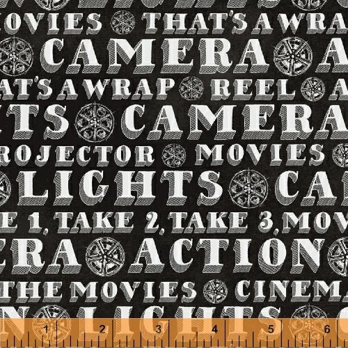 Lights, Camera, Action by Windham Fabrics 42852-1