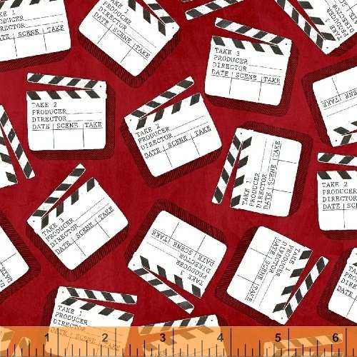 Lights, Camera, Action by Windham Fabrics 42854-3