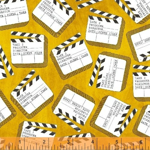 Lights, Camera, Action by Windham Fabrics 42854-4