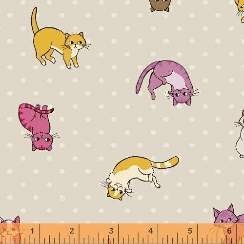 42948-2 Caturday by Windham Fabrics