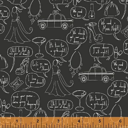 43076-4 Girls Night Out by Windham Fabrics