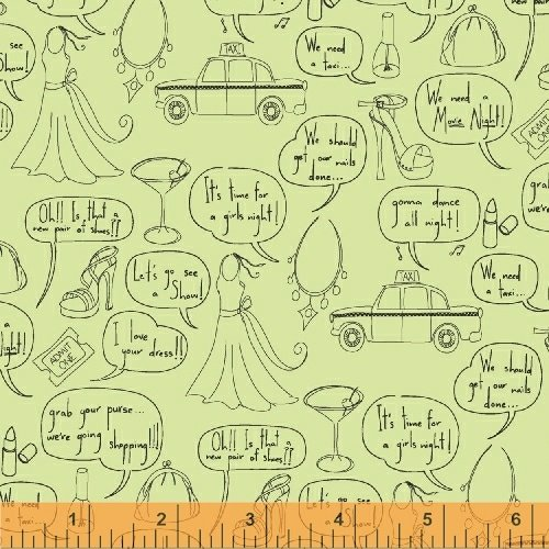 43076-5 Girls Night Out by Windham Fabrics