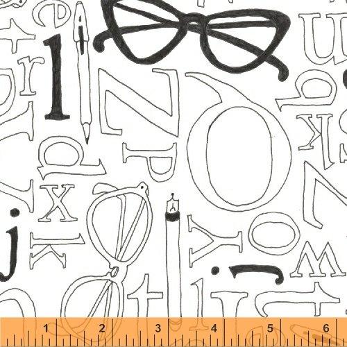 43136-4 Wordplay by Windham Fabrics
