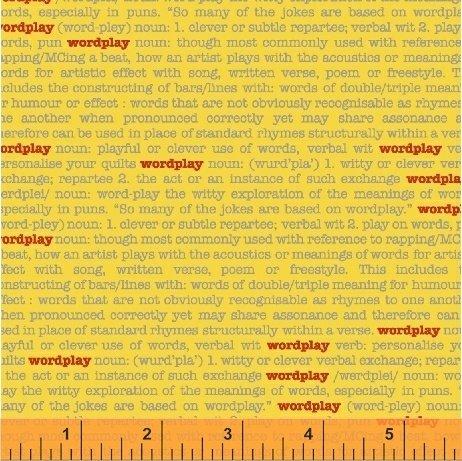 43141-10 Wordplay by Windham Fabrics