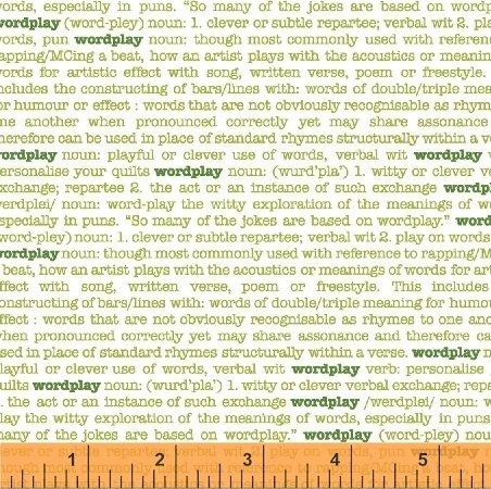 43141-7 Wordplay by Windham Fabrics