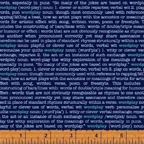 43141-8 Wordplay by Windham Fabrics