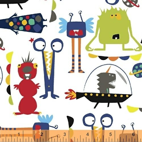 43231-3 Aliens by Windham Fabrics